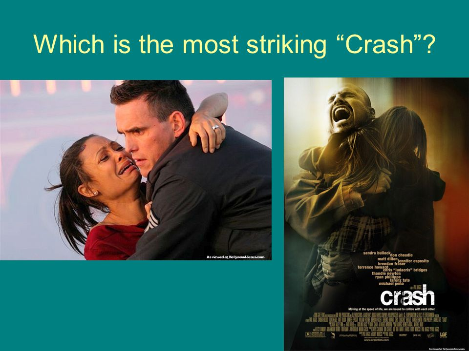 """Which is the most striking """"Crash""""?"""