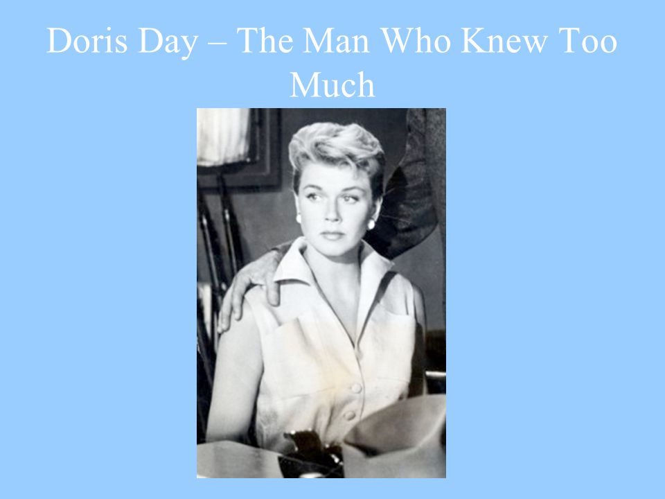 Doris Day – The Man Who Knew Too Much