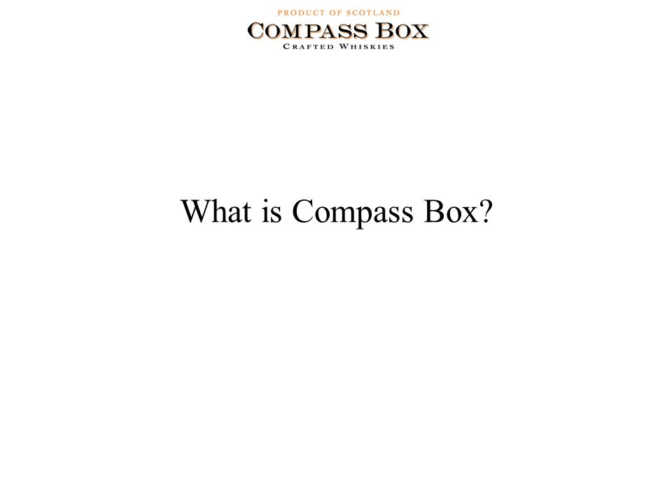 What is Compass Box