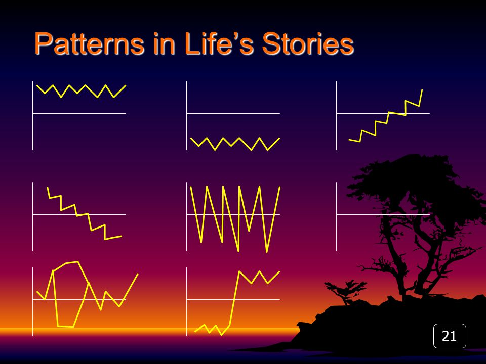 21 Patterns in Life's Stories