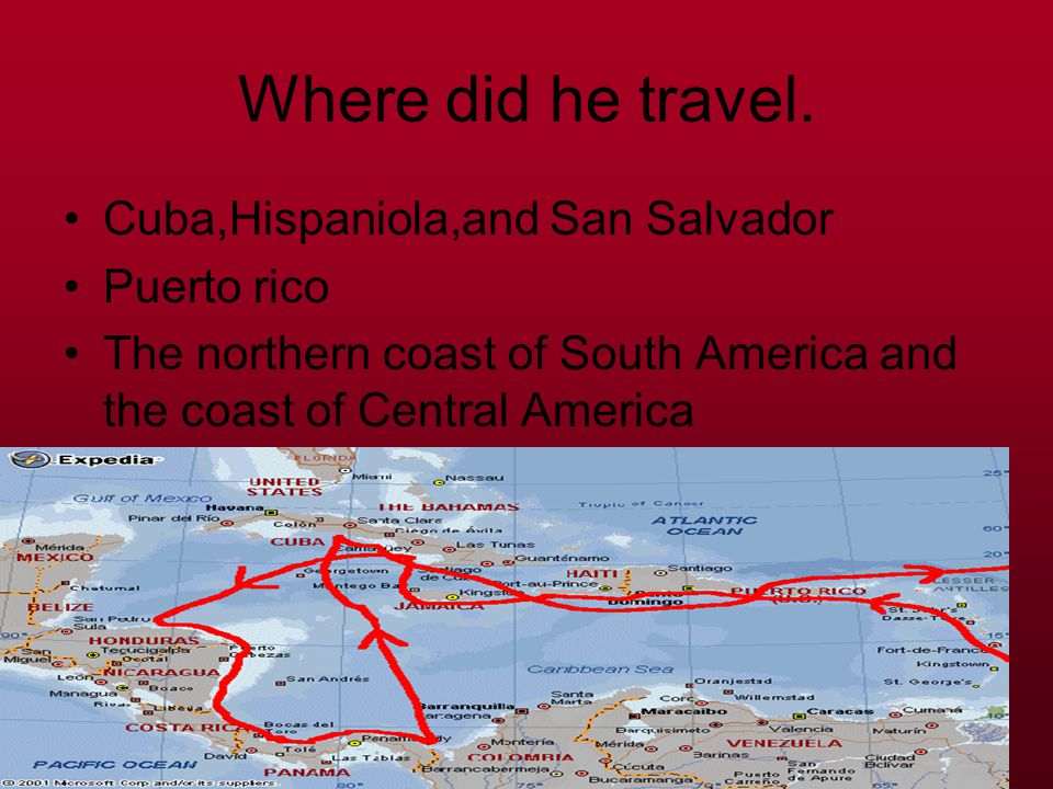 Why did Columbus make his voyage. He made his voyage to go to the spice islands to sell his spice.
