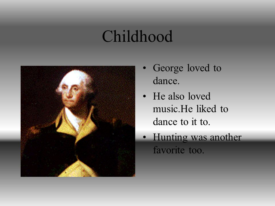 George Washington George Washington is the 1 st president of the United States.