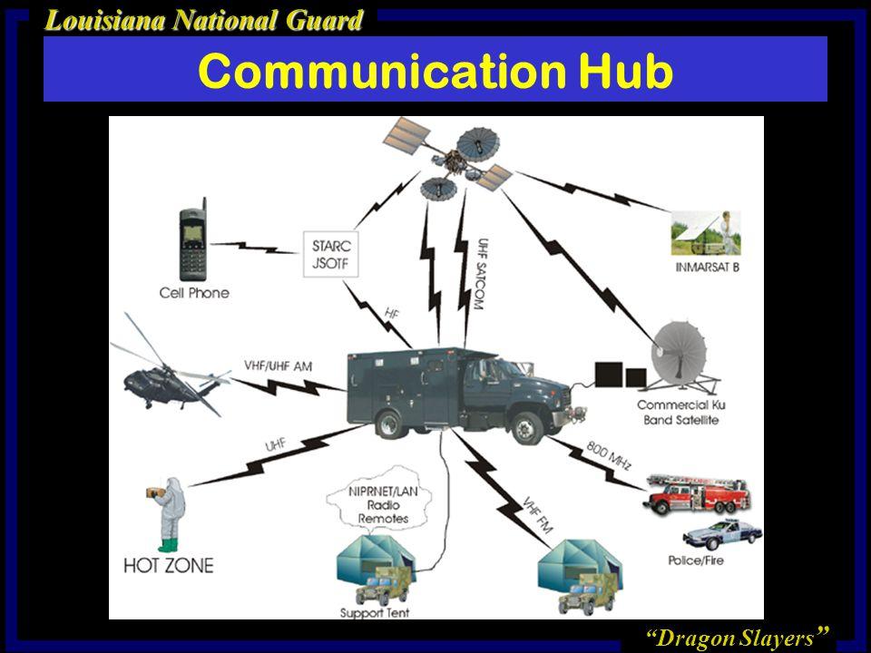 Dragon Slayers Louisiana National Guard Communication Hub