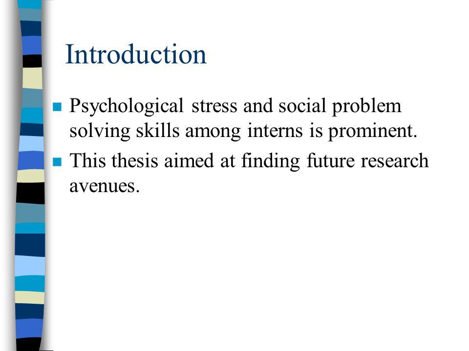 Article 2, Methods n Tools : 1.Stress = DSP 2. Social Problem Solving Skills = SPSS 3.