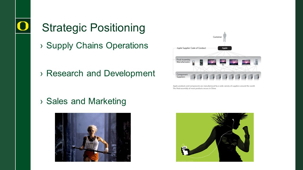 Strategic Positioning ›Supply Chains Operations ›Research and Development ›Sales and Marketing