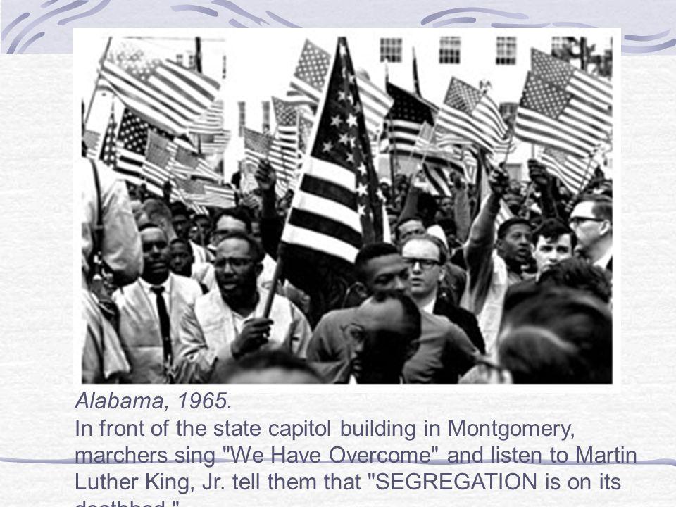 Alabama, 1965.