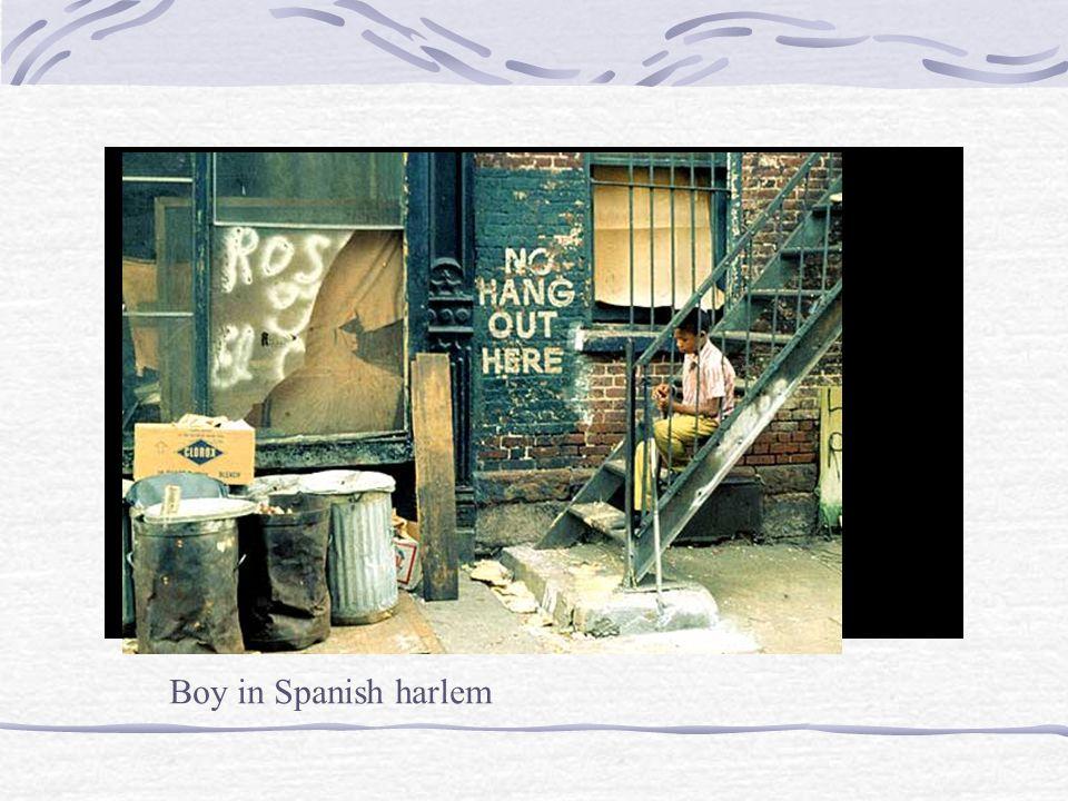 Boy in Spanish harlem
