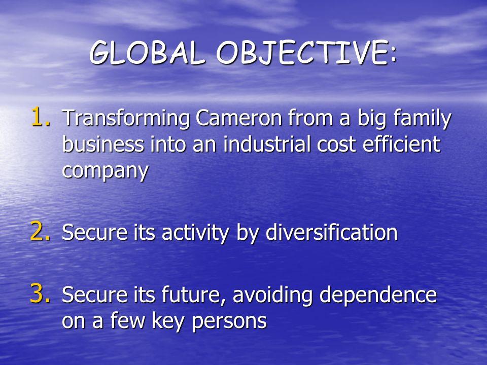 GLOBAL OBJECTIVE: 1.
