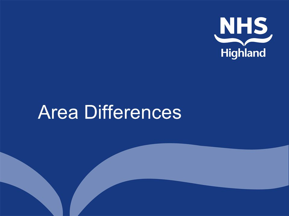 Area Differences