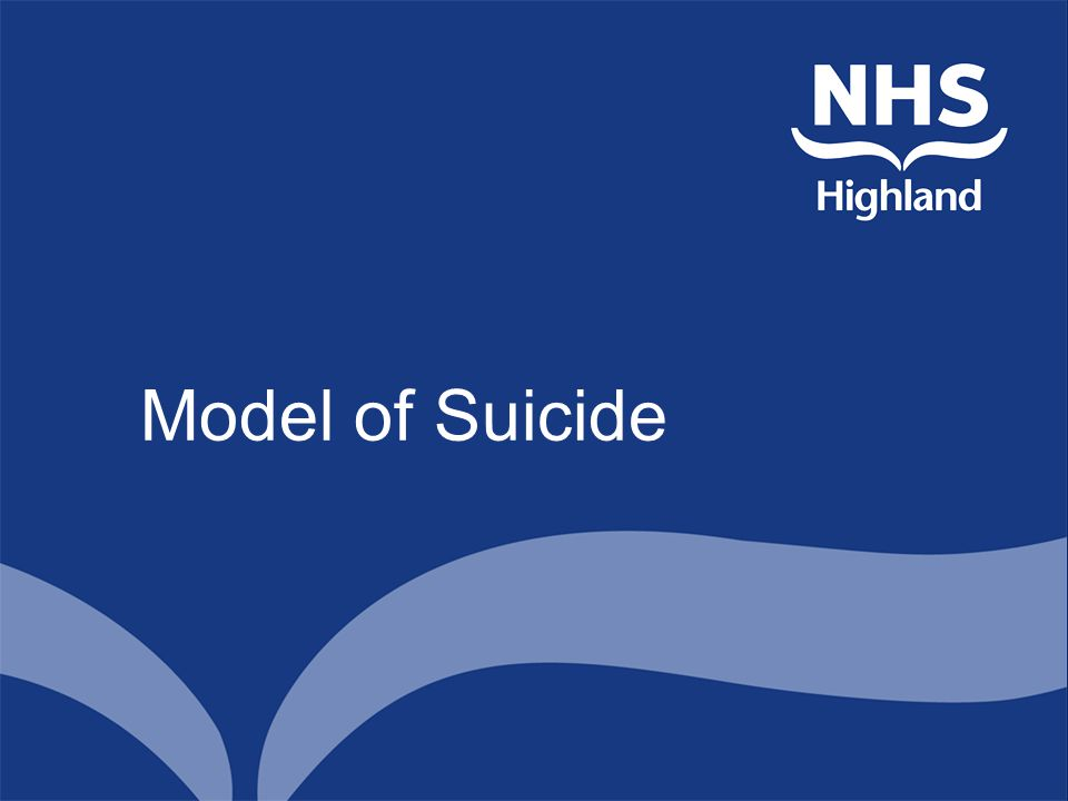 Model of Suicide
