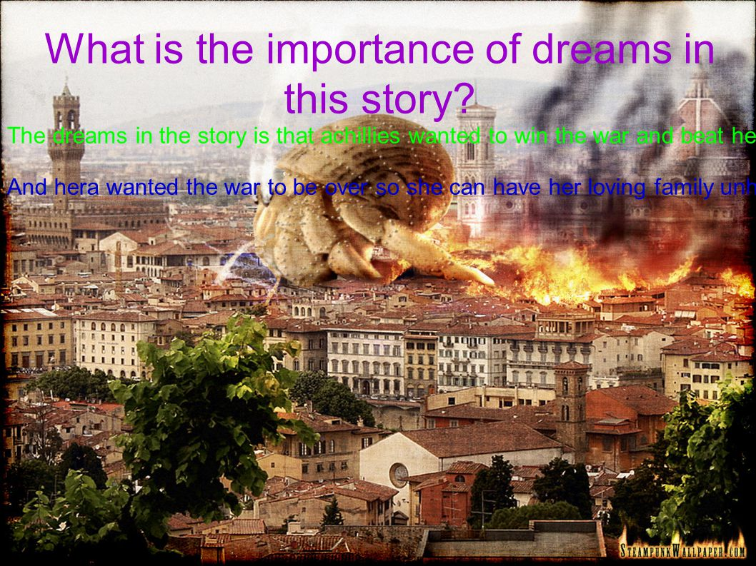 What is the importance of dreams in this story.
