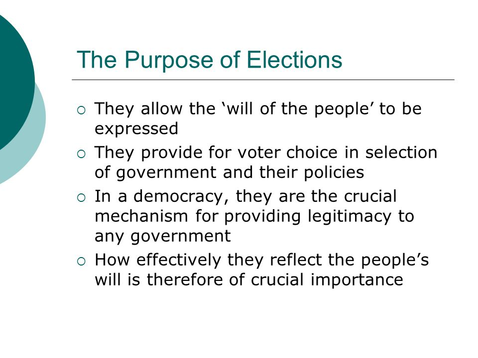 Elections, Electoral Reform, and 2010