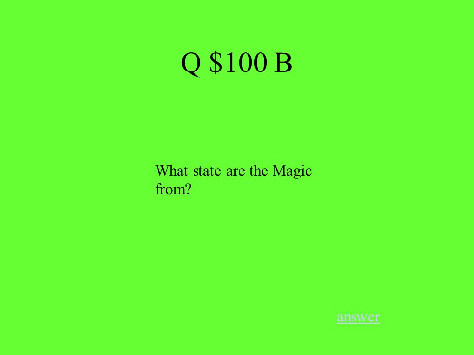 What is Hastlebec's #? answer Q $100 A