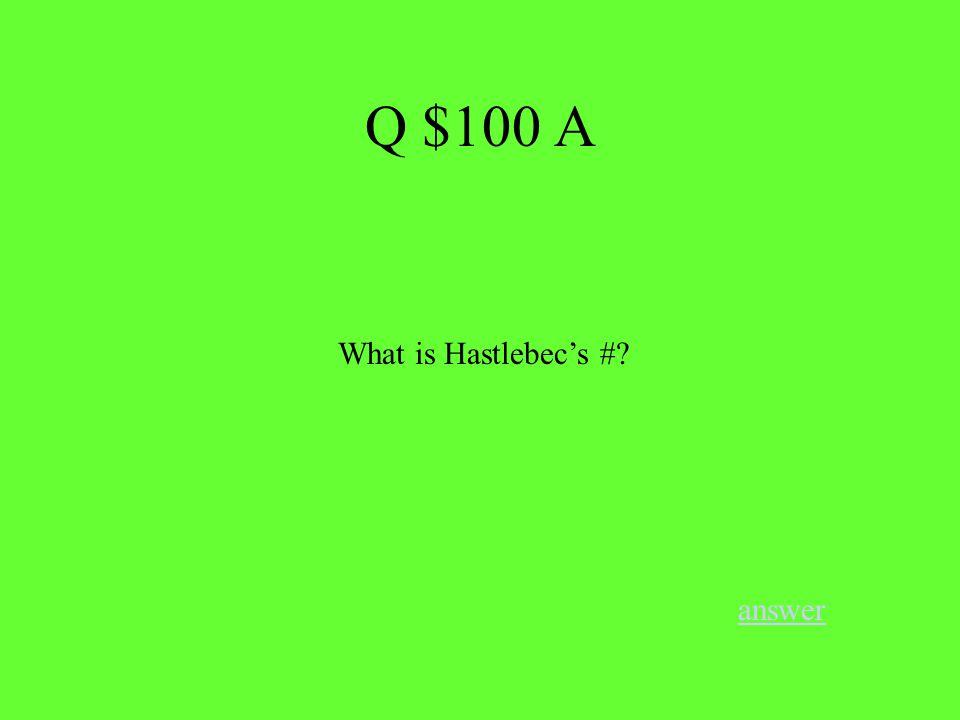 Q $400 B answer Who scored a record 10 hat tricks in an NHL season?