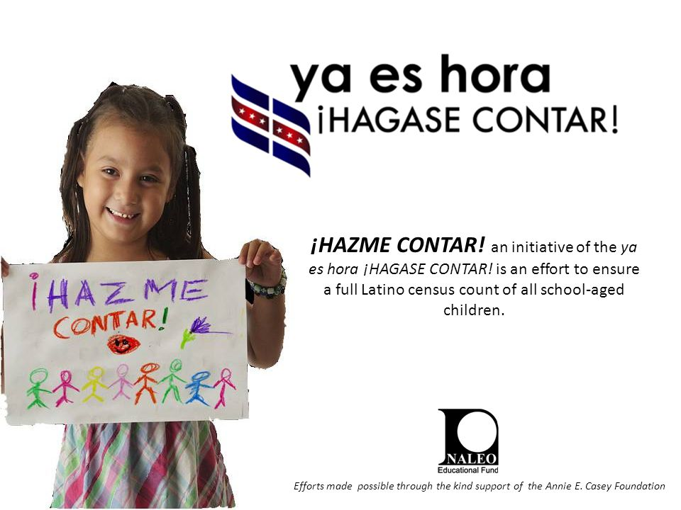 ¡HAZME CONTAR.an initiative of the ya es hora ¡HAGASE CONTAR.