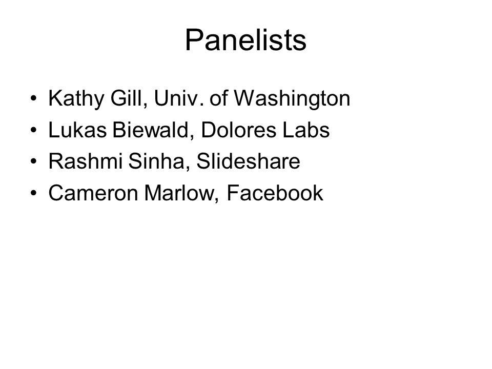 Panelists Kathy Gill, Univ.