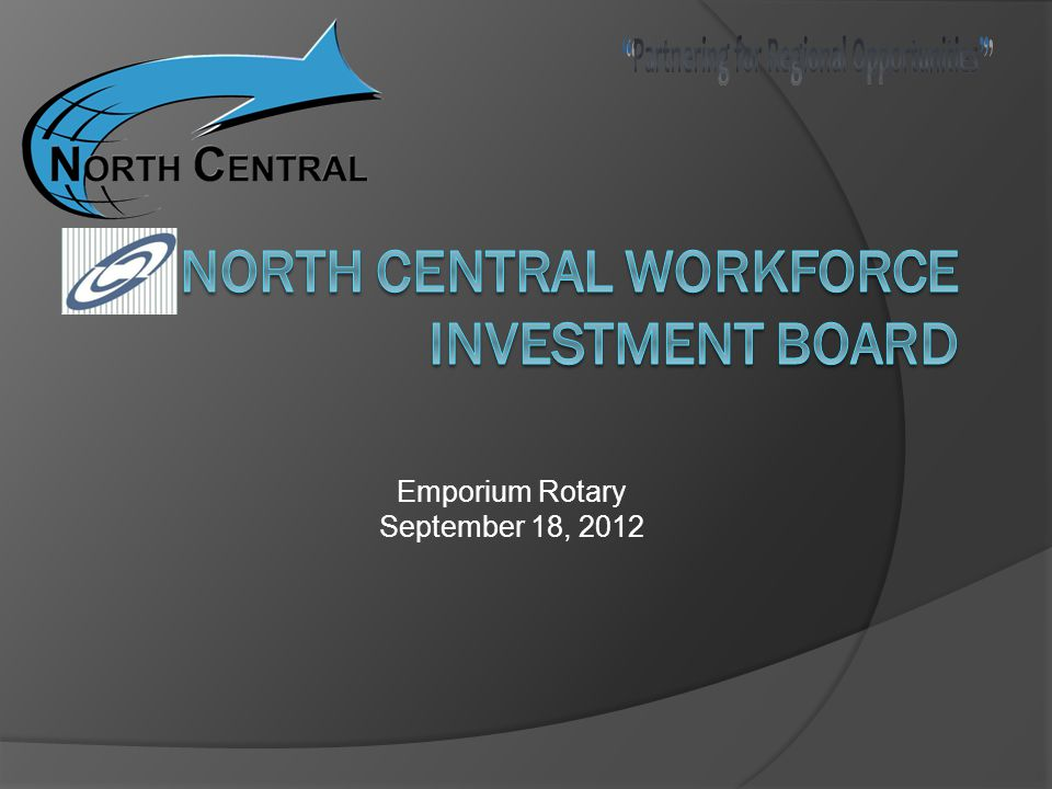 Emporium Rotary September 18, 2012