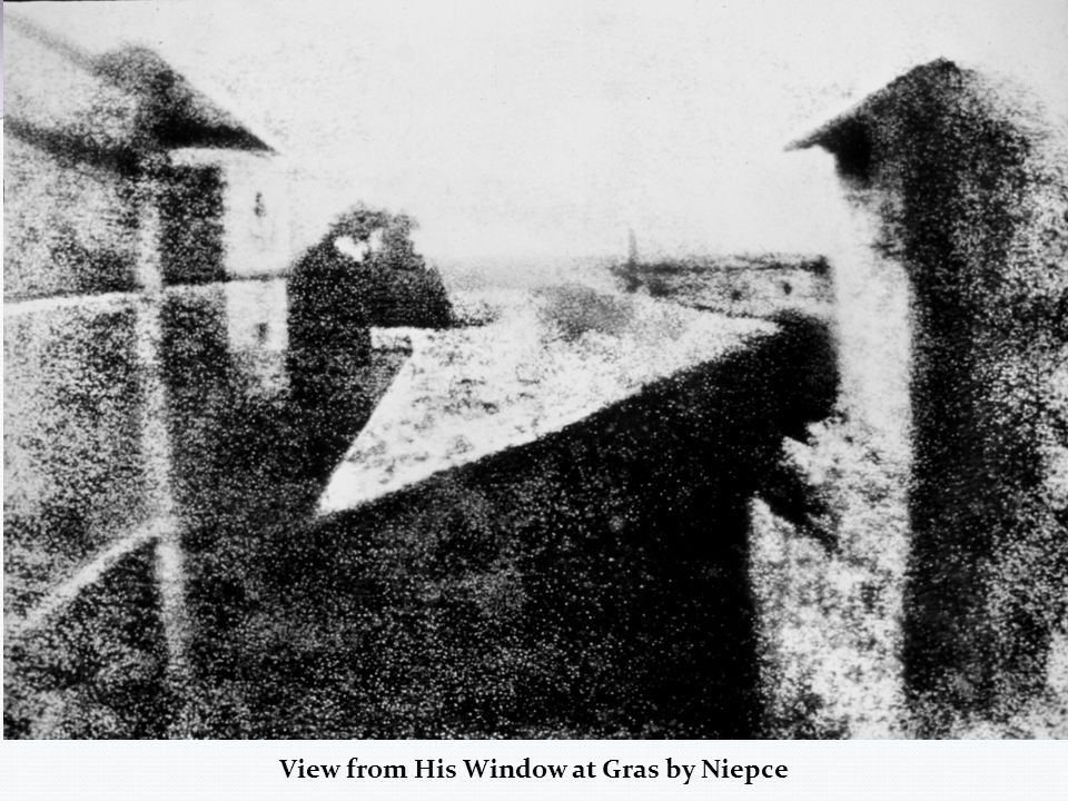 View from His Window at Gras by Niepce