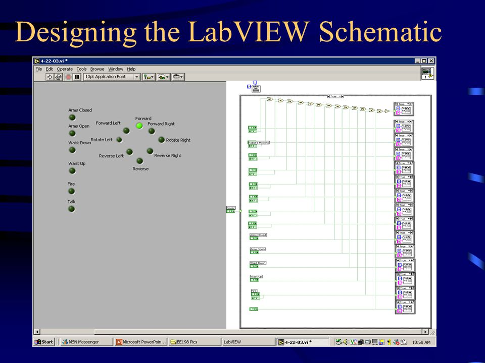 Designing the LabVIEW Schematic
