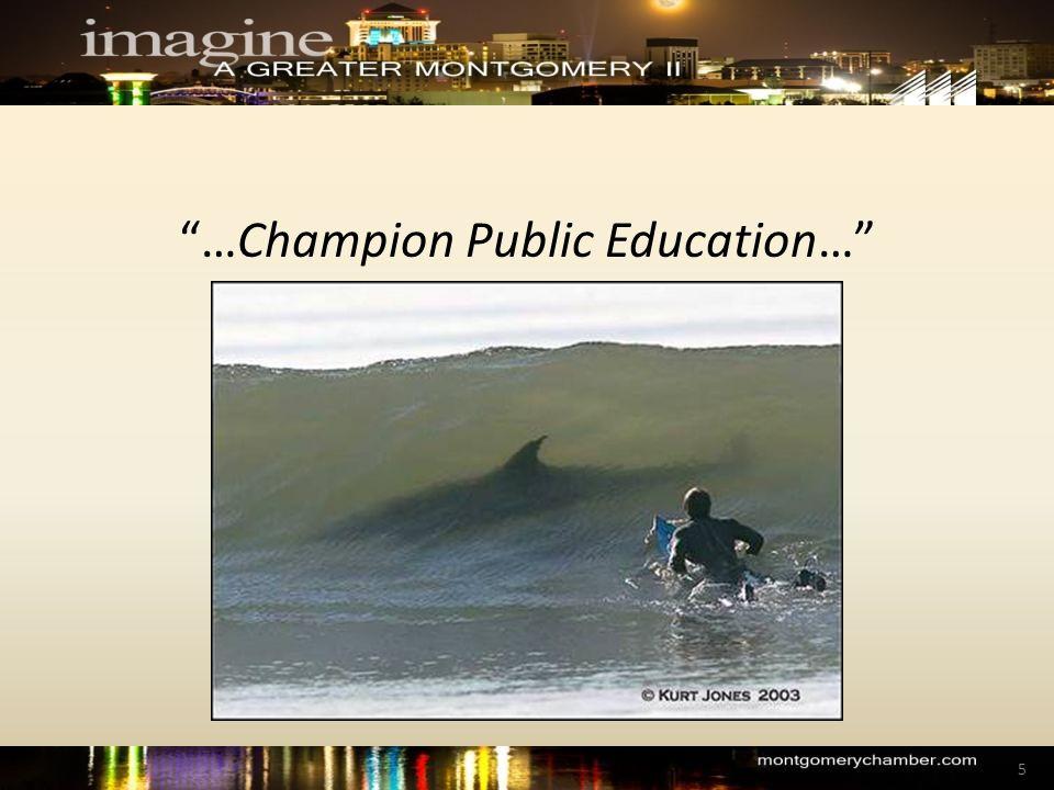 """…Champion Public Education…"" 5"