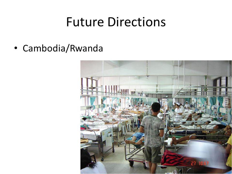 Future Directions Cambodia/Rwanda
