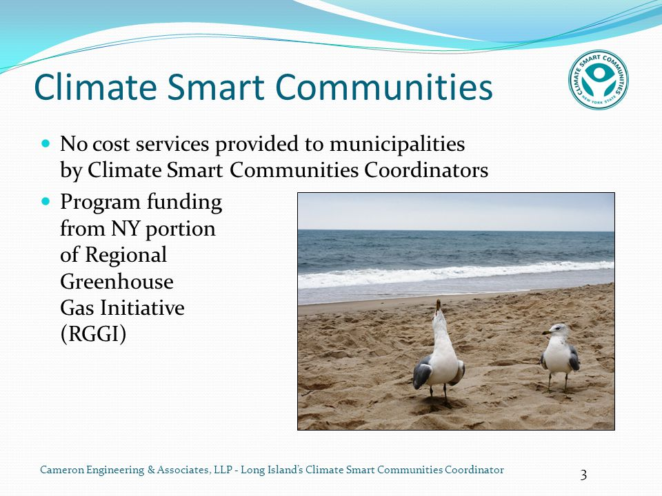 14 Cameron Engineering & Associates, LLP - Long Island's Climate Smart Communities Coordinator Sand for the Shore – 'Zand Motor' 11 million cubic meters sand pumped from offshore to foreshore Current distributes sand