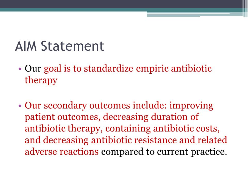 Institutional Strategic Goals National Patient Safety Goal 7 : Reduce the risk of health care associated infections New standards for 2009 ▫NPSG.07.03.01: Implement evidence-based practices to prevent health care associated infections due to multiple drug-resistant organisms in acute care hospitals.