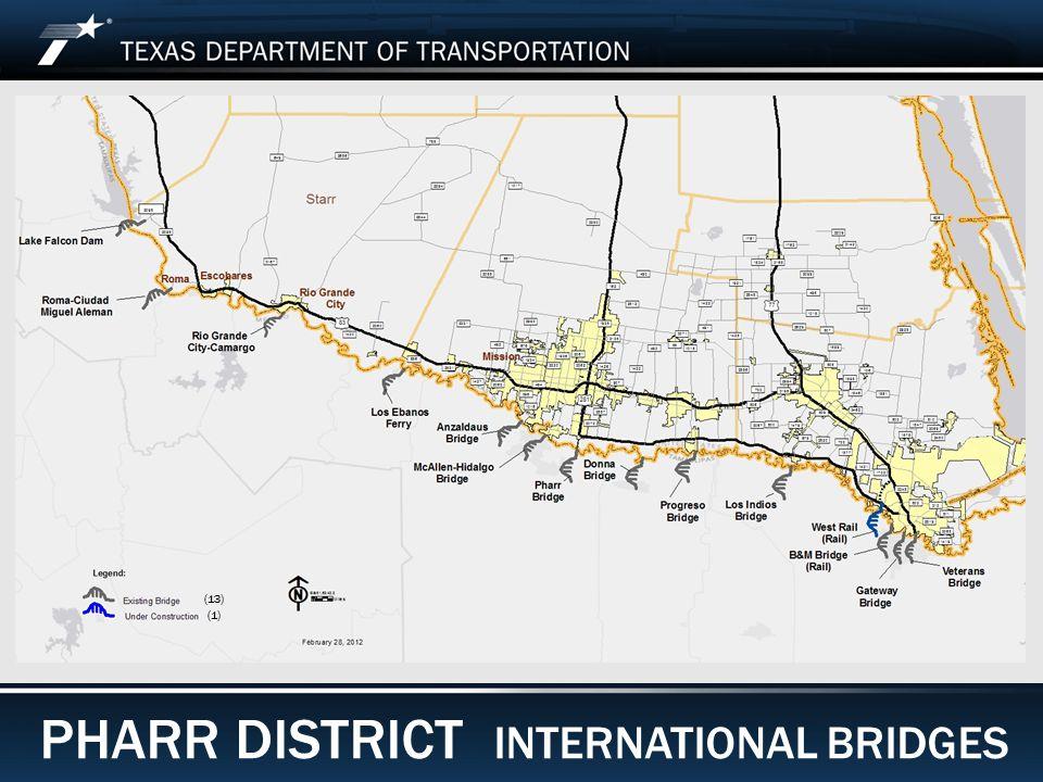 Footer Text Date PHARR DISTRICT INTERNATIONAL BRIDGES (13) (1)