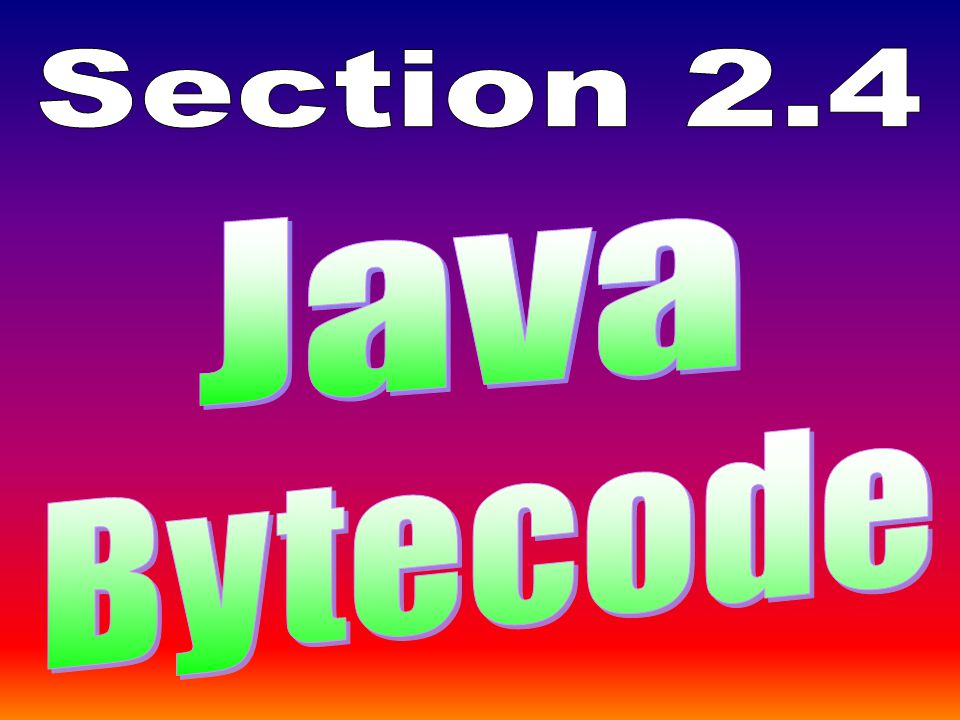 Instructions on how to install the Java software are provided in a special PowerPoint presentation in the InstallingJava folder.