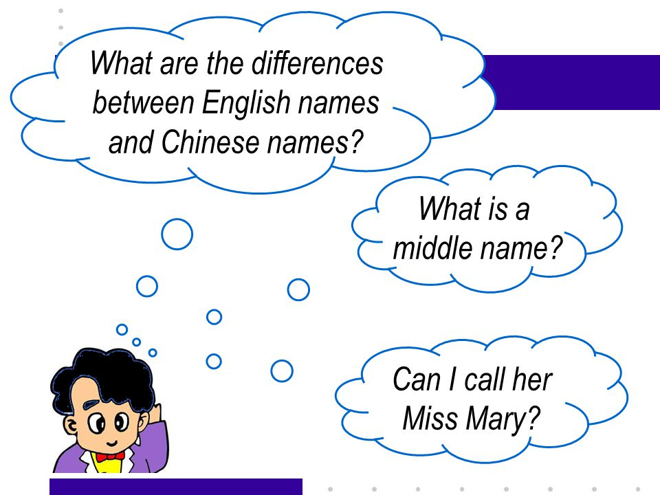 Passage X13 The differences—— order 张 小 刚 Xiaogang Zhang family name given name family name given name