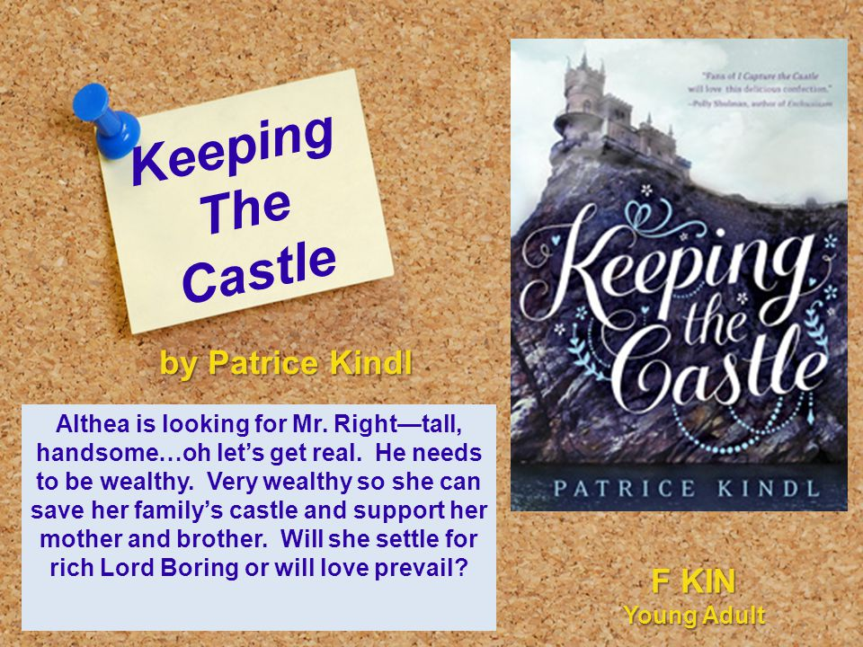 Keeping The Castle Althea is looking for Mr. Right—tall, handsome…oh let's get real.