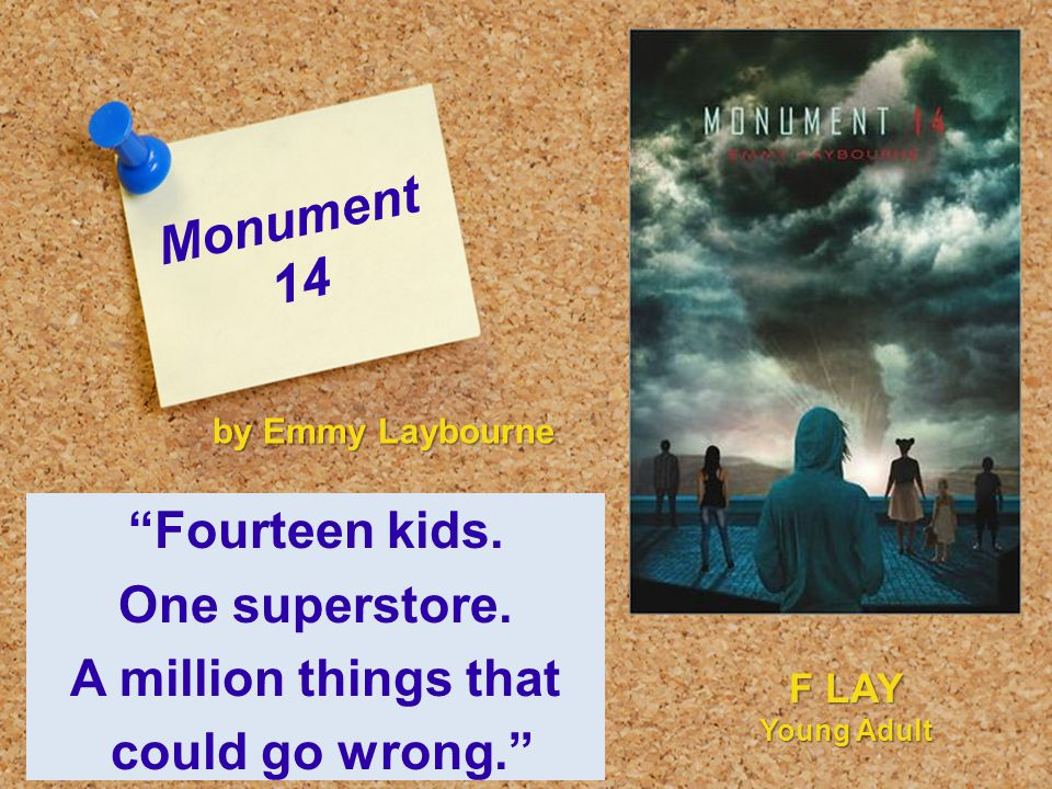 Monument 14 Fourteen kids. One superstore.