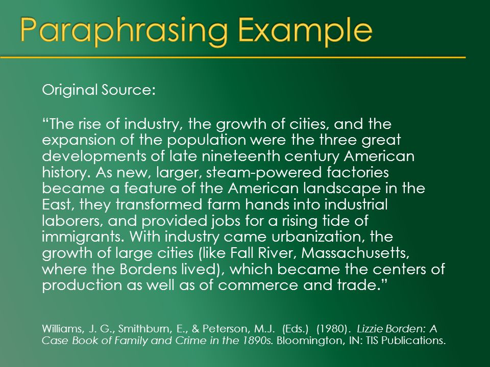 Original Source: The rise of industry, the growth of cities, and the expansion of the population were the three great developments of late nineteenth century American history.