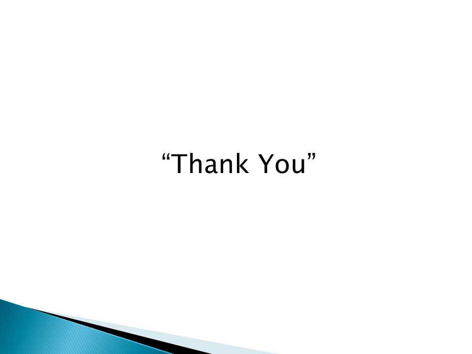 """""""Thank You"""""""