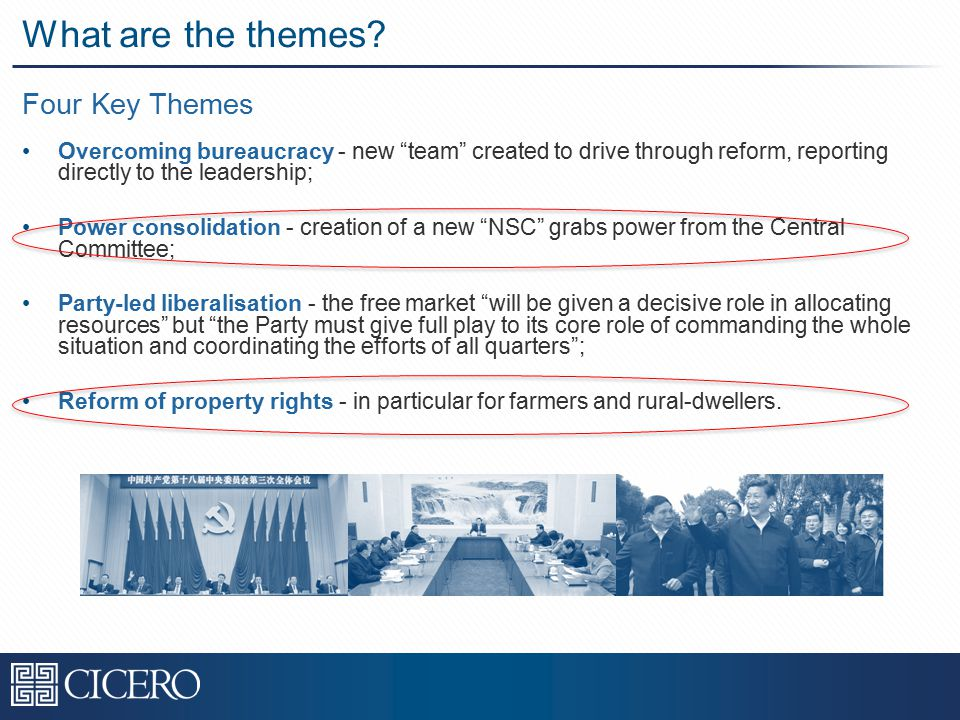Four Key Themes What are the themes.