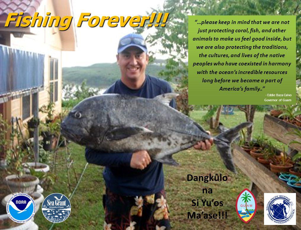 Fishing Forever!!. Dangkûlo na Si Yu'os Ma'ase!!.