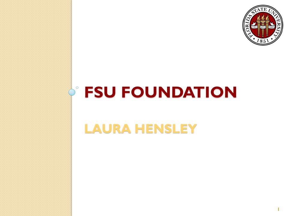FSU FOUNDATION LAURA HENSLEY 1