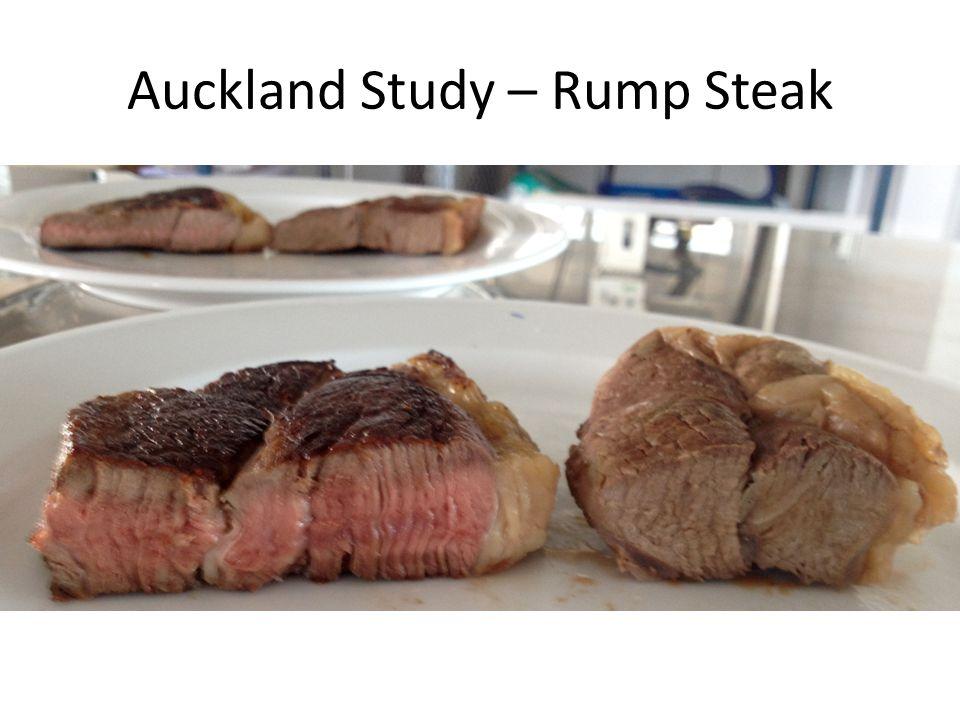 Auckland Study – Rump Steak