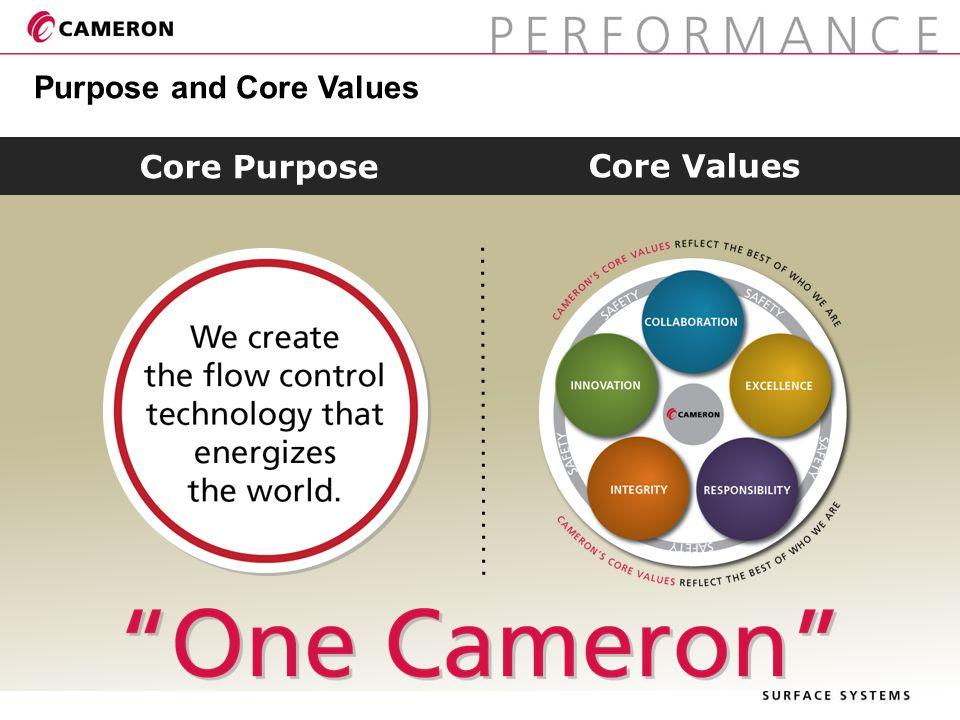Purpose and Core Values Core Purpose Core Values