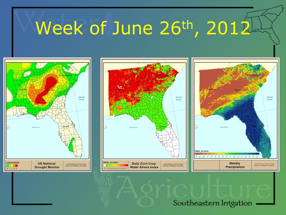 Week of June 26 th, 2012