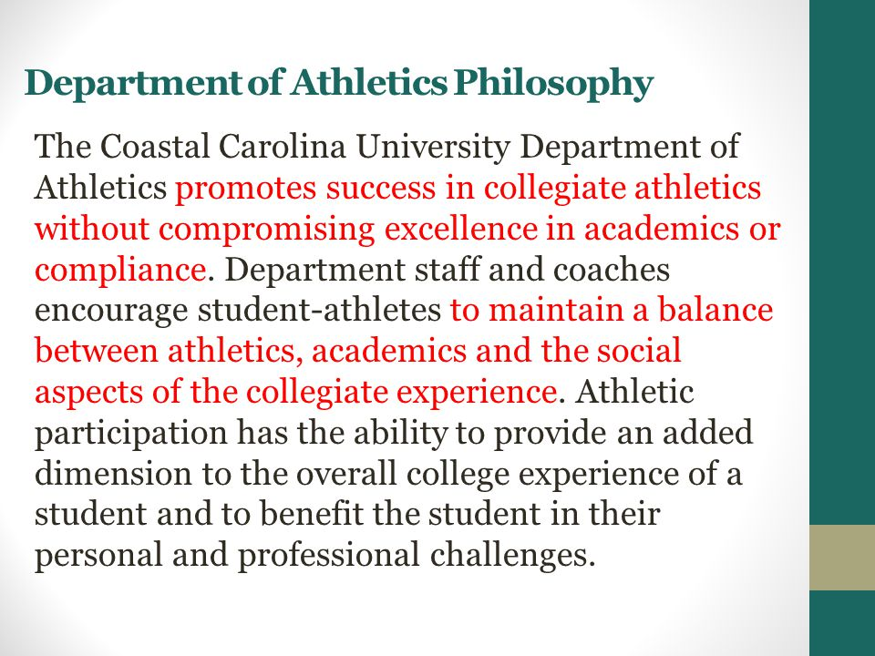 CCU Athletics Highlights, 2013 – 2014 7 of 18 teams advanced to NCAA post-season play.