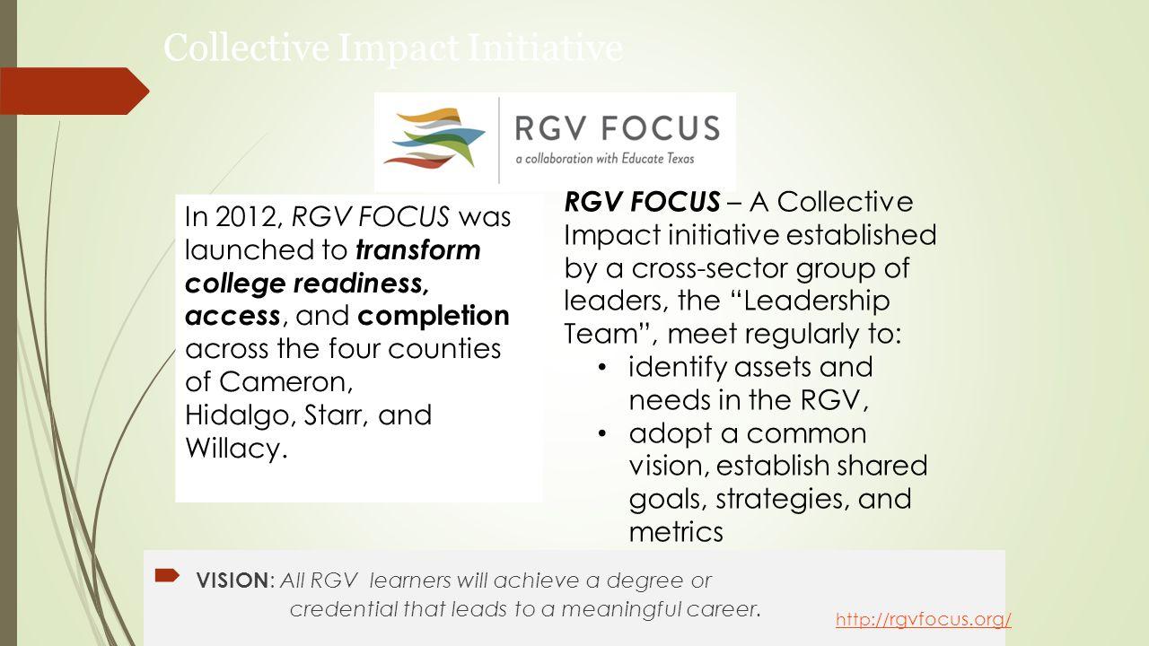 RGV FOCUS Leadership Team