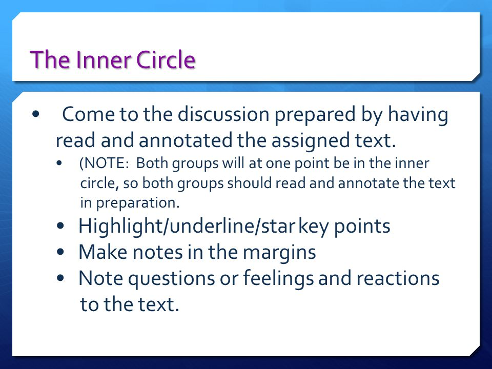 Final Thoughts Socratic Discussion is based upon the belief that students are capable of thinking critically without being fed questions and cued answers by the teacher.