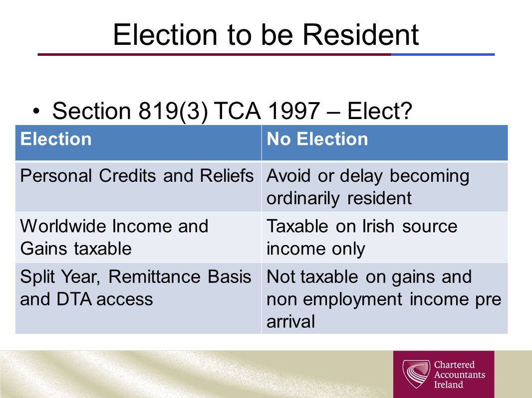 2012 SARP Tax deduction = Specified Amount (A-B) x 30% A = Lower of: Employment Income* or €500,000 B= €75,000 * Less deductible pension contributions and earnings on which DTA relief granted