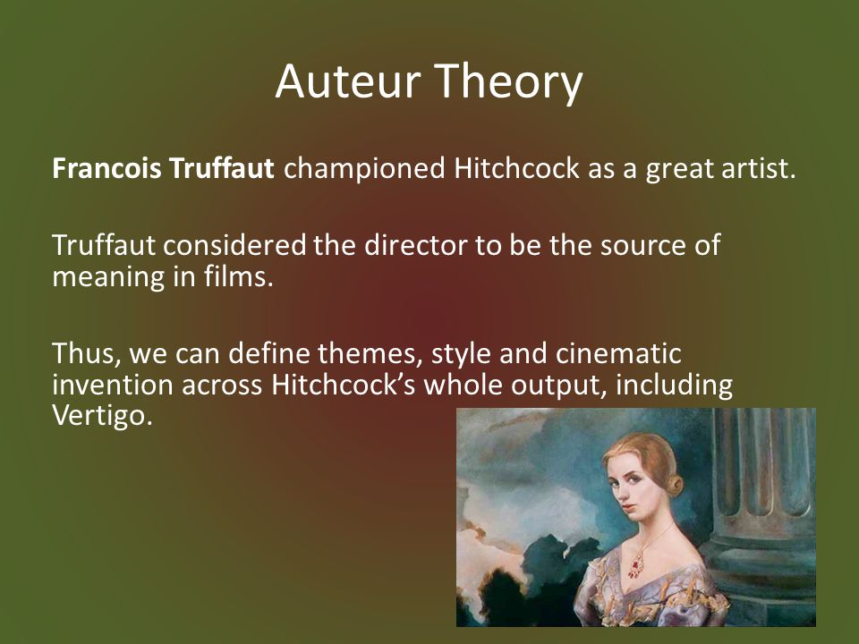 Apparatus theory also argues that cinema maintains the dominant ideology of the culture within the viewer.