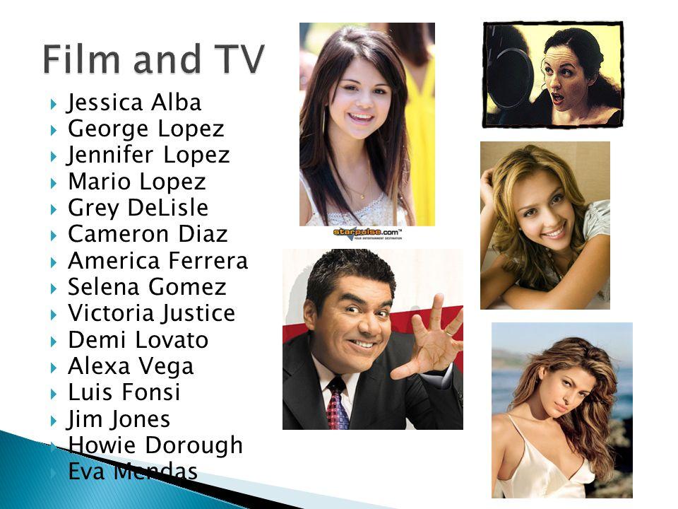  Jessica Alba  George Lopez  Jennifer Lopez  Mario Lopez  Grey DeLisle  Cameron Diaz  America Ferrera  Selena Gomez  Victoria Justice  Demi
