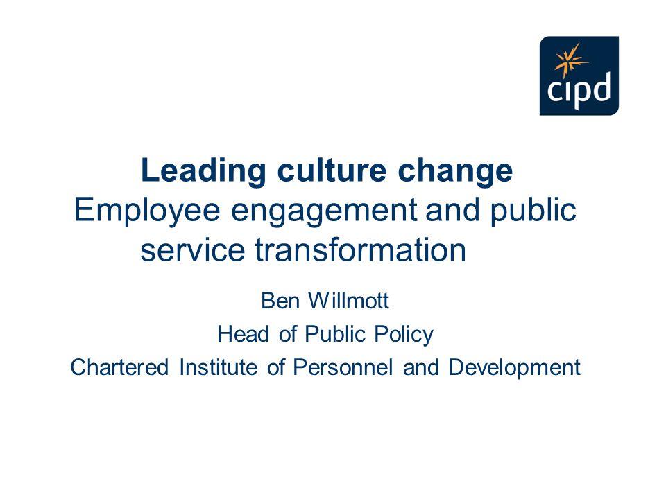 What does engaging leadership look like.