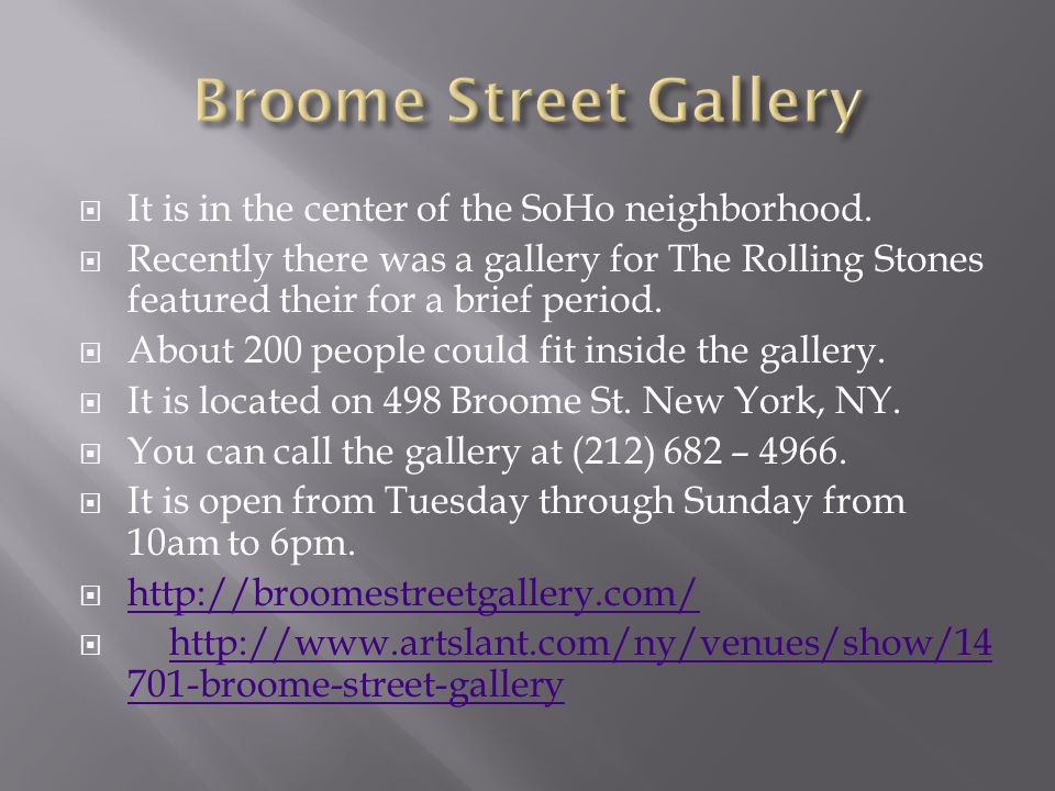  George Condo is a contemporary artist who is being featured at the Broome Street Gallery.