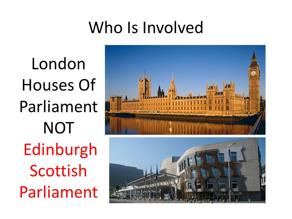 The Powers of the Westminster over Scotland