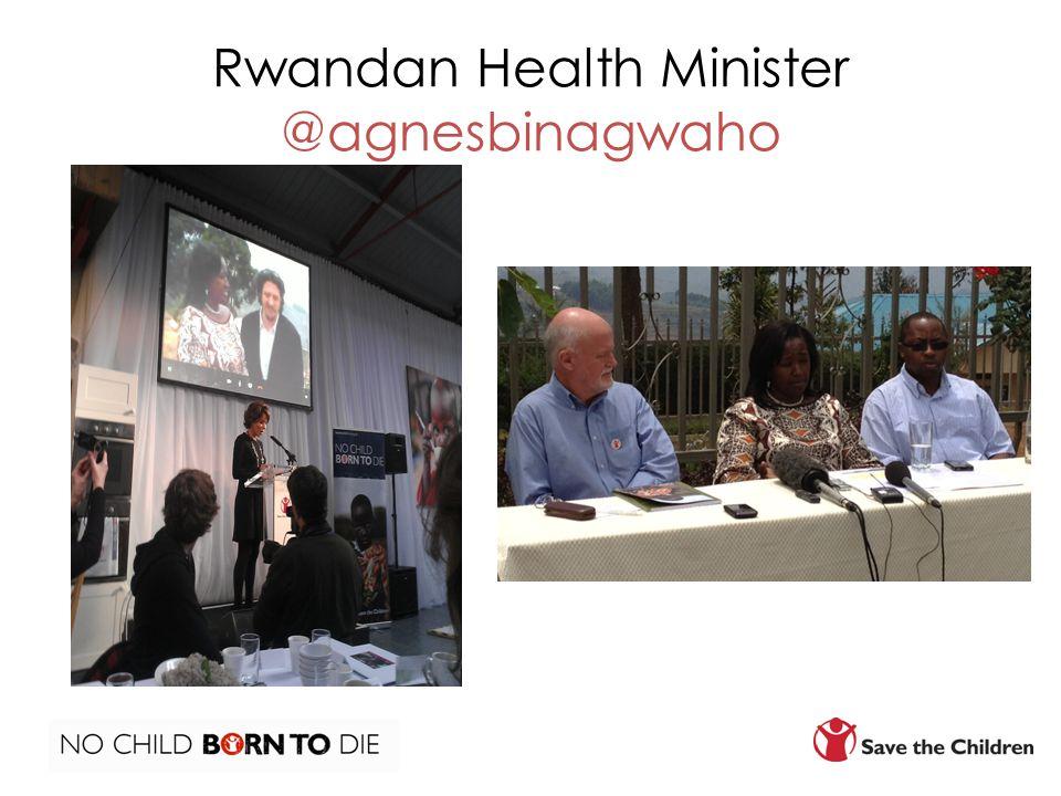 Rwandan Health Minister @agnesbinagwaho